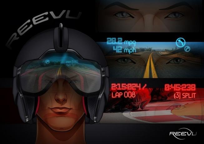 Wie im Kampfjet – Revvu entwickelt Motorradhelm mit Head-Up-Display