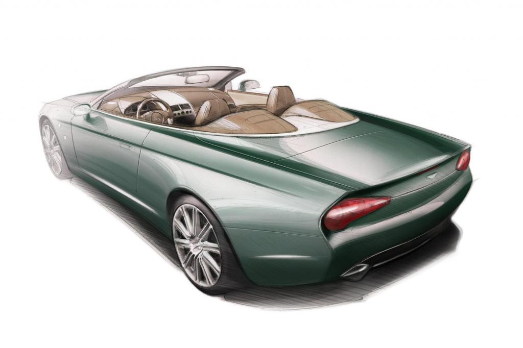 Zum Anlass genommen für die zwei Einzelstücke hat die Designschmiede den 100. Geburtstag, den Aston Martin in diesem Jahr feiert