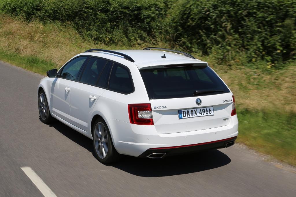 Škoda Octavia RS – Kraftpaket für Großfamilien