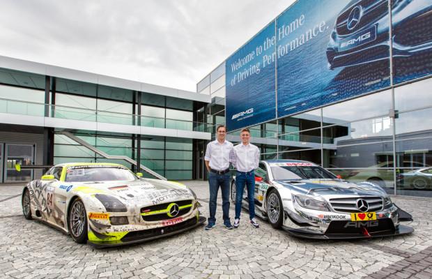 24-Stunden-Siegerteams besuchen DTM-Rennen auf dem Nürburgring