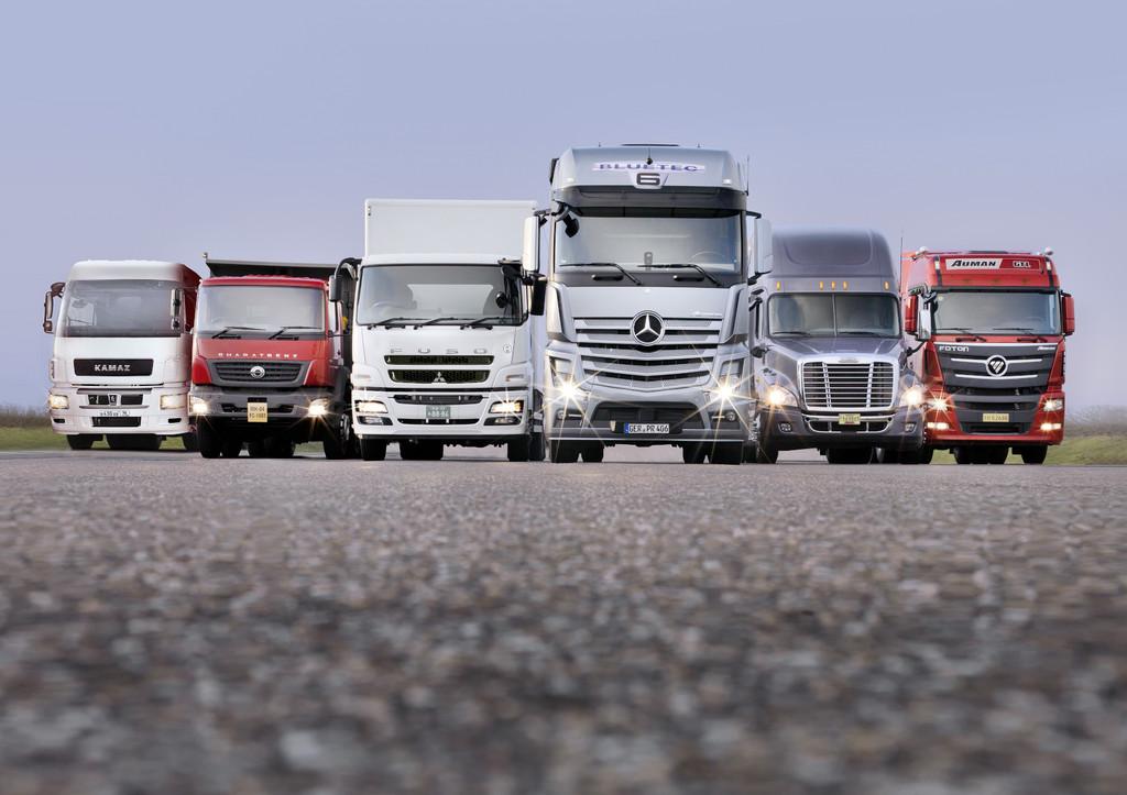 45 000 Lkw-Fahrer besuchen Profi-Training von Mercedes-Benz