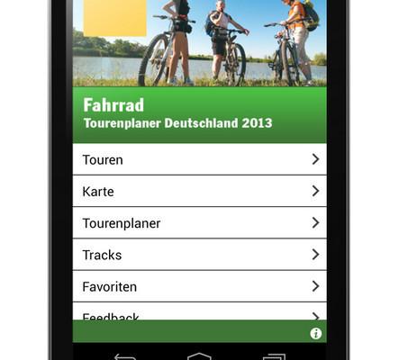 ADAC bietet digitalen Fahrradtouren-Planer