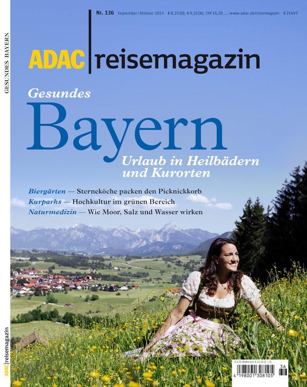 ADAC bringt Bayern-Reisemagazin heraus