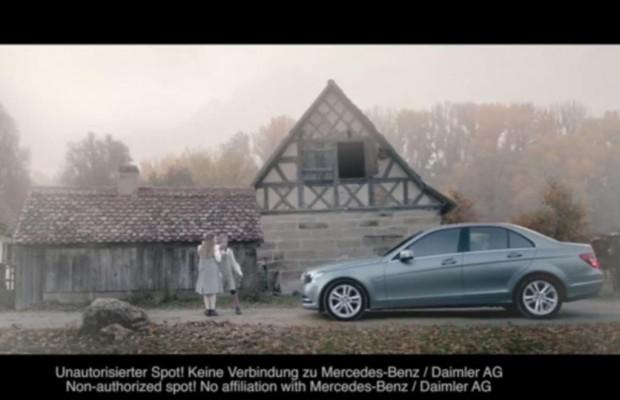 Autowerbung -  Falscher Mercedes-Spot erregt die Gemüter