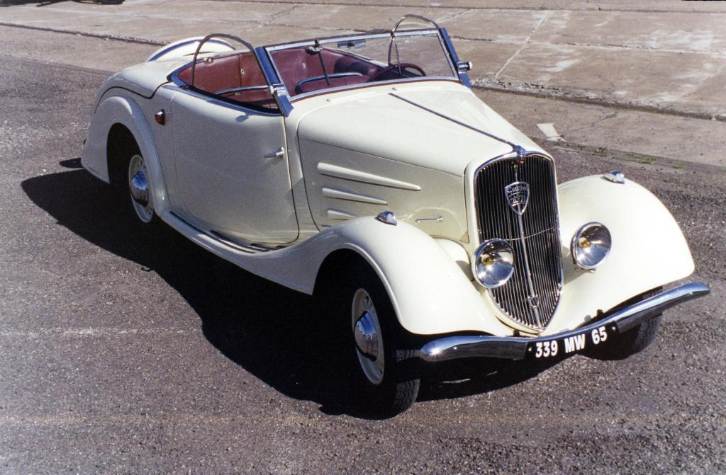 Bei Peugeot klappen seit 80 Jahren die Metalldächer