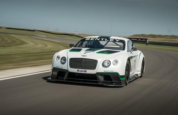 Bentley sagt was der Continental GT3 kann