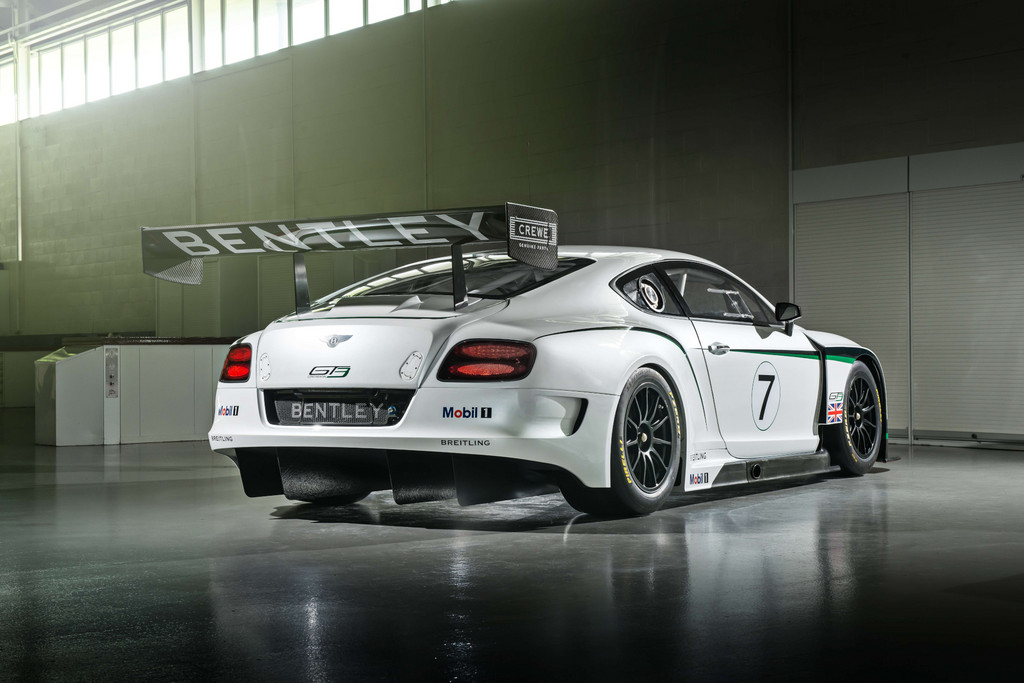 Bentley sagt was der Continental GT3 kann
