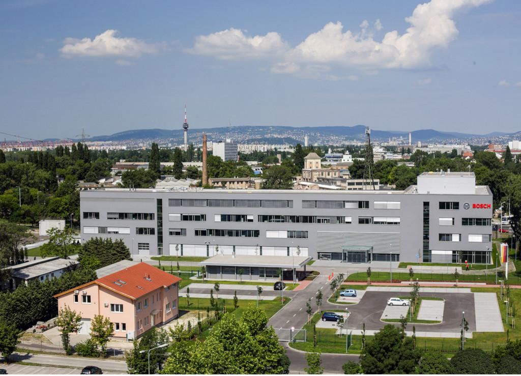 Bosch eröffnet neue Firmenzentrale in Budapest