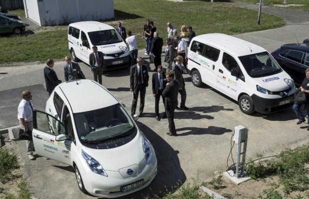 CO2 gespart: positive Zwischenbilanz im E-Mobilitäts-Projekt