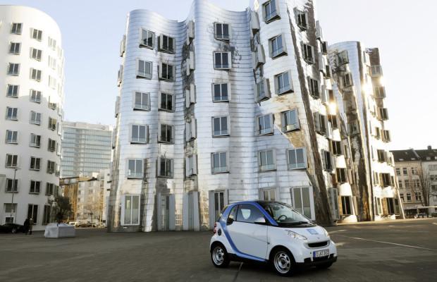 Car2go erweitert Gebiet in Düsseldorf