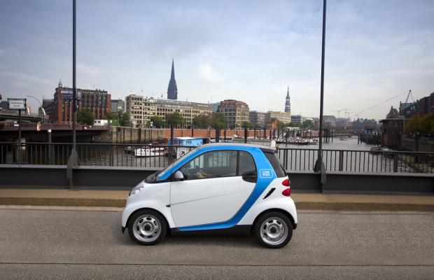 Car2go geht über die Elbe