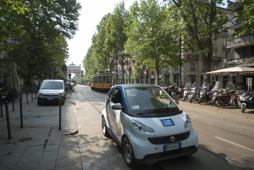 Car2go kommt nach Mailand