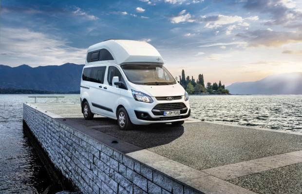Caravan-Salon 2013: Der Ford Transit kriegt eins aufs Dach