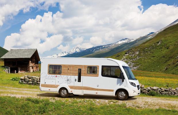 Caravan-Salon 2013: Eura Mobil präsentiert rollende Berghütte