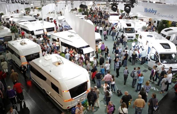 Caravan Salon eröffnet - Branchenzahlen mau