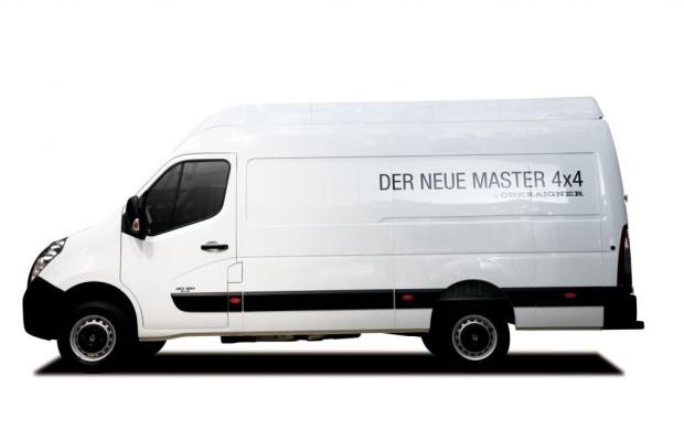 Caravan Salon in Düsseldorf 2013: Renault Master 4x4 - Vom Lieferwagen zum Geländegänger