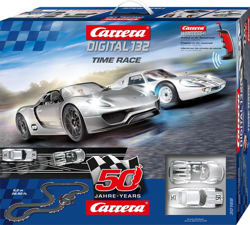 Carrera feiert mit zwei Porsche-Sets Jubiläum