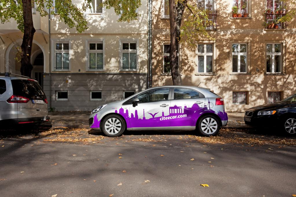 Carsharing startet in Potsdam