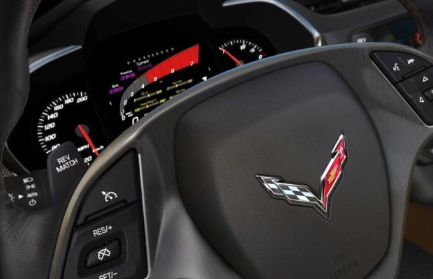 Chevrolet Corvette: Programmierbares Display