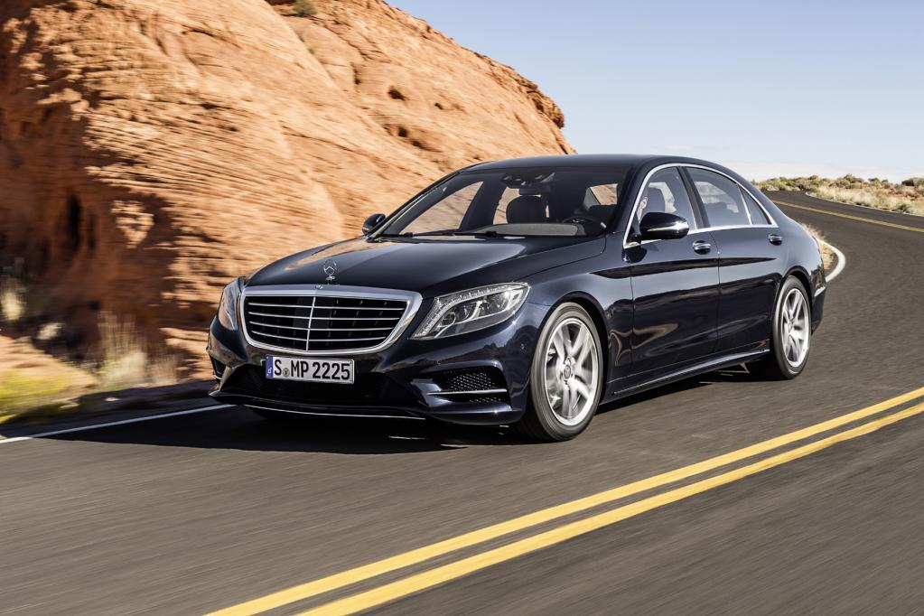 DUH klagt gegen irreführende Werbung für Mercedes S-Klasse
