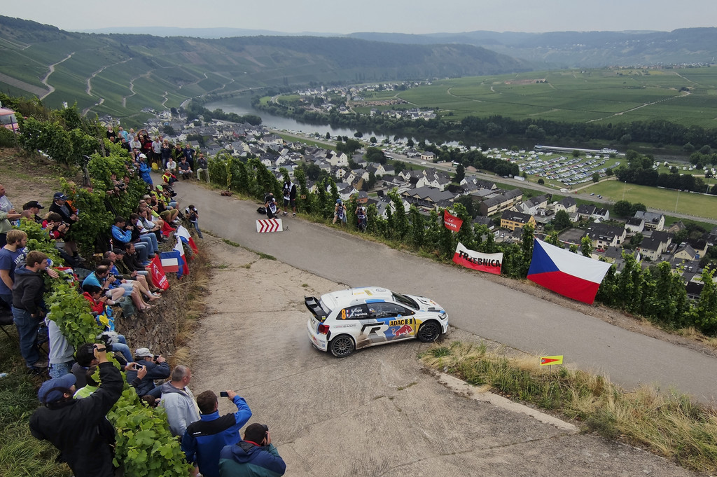 Dani Sordo gewinnt WRC Deutschland