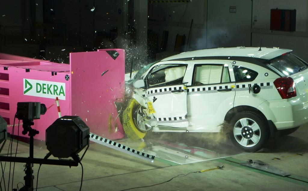 Dekra testet Fahrzeuge nach aktuellen US-Testprozeduren
