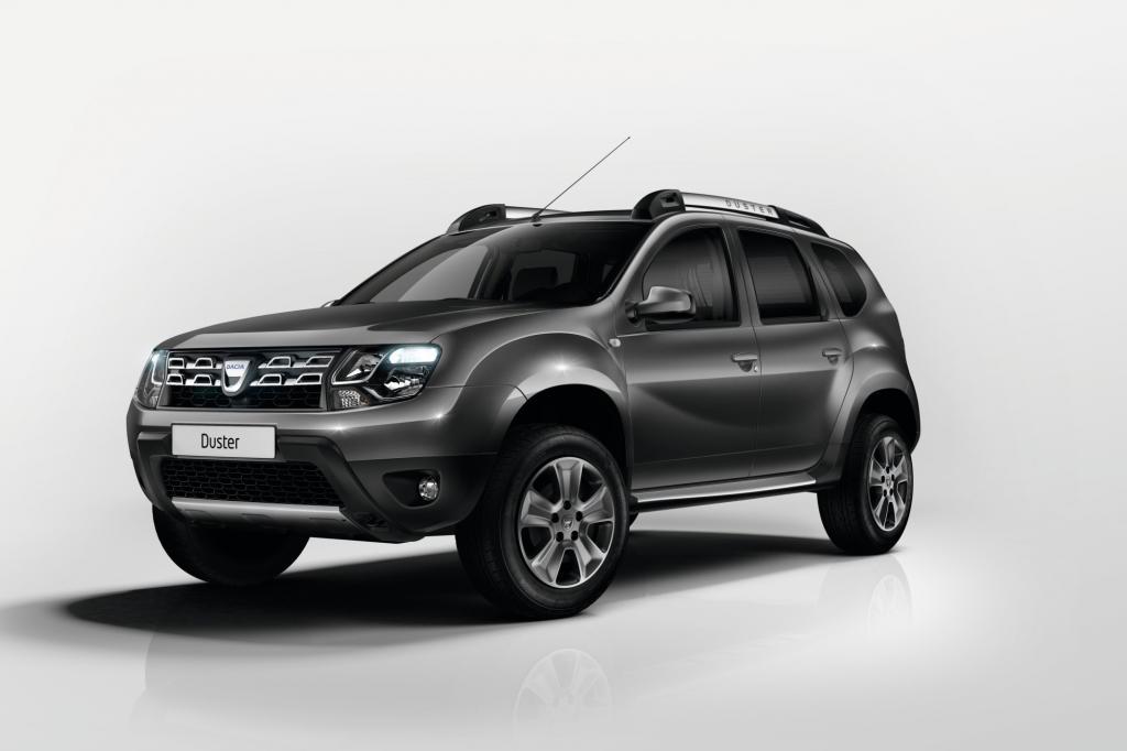 Der Dacia Duster erhält eine neu gestaltete Front