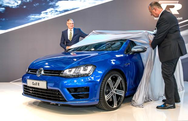 Der Straßenkämpfer: VW enthüllt erstmals neuen Golf R / Auslieferungen ab November