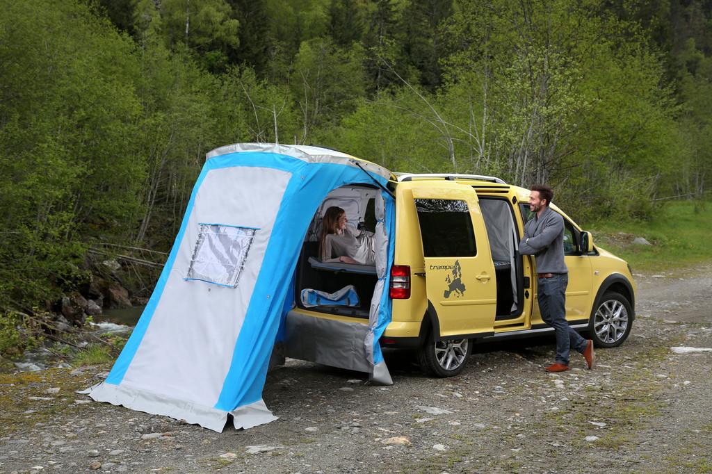 Der VW Caddy sagt