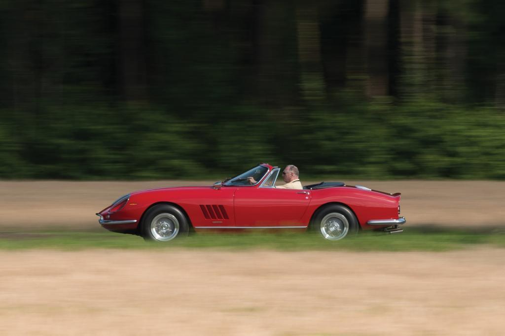 Der amerikanische Unternehmer und Ferrari-Sammler Eddie Smith Senior hatte das Auto 1968 gekauft