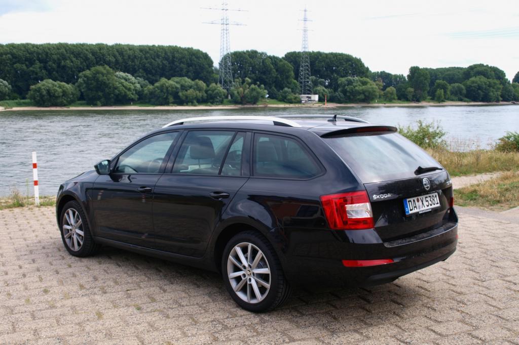 Der neue Octavia Combi baut auf dem modularen Querbaukasten des VW-Konzerns