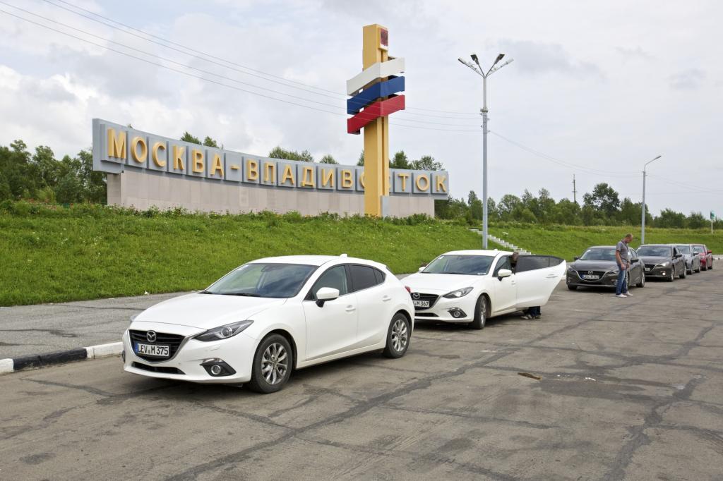 Der sibirische Highway ist ein Abenteuer für Maschine und Mensch.