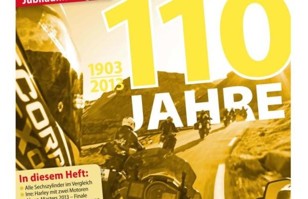 Die Zeitschrift Motorrad wird 110
