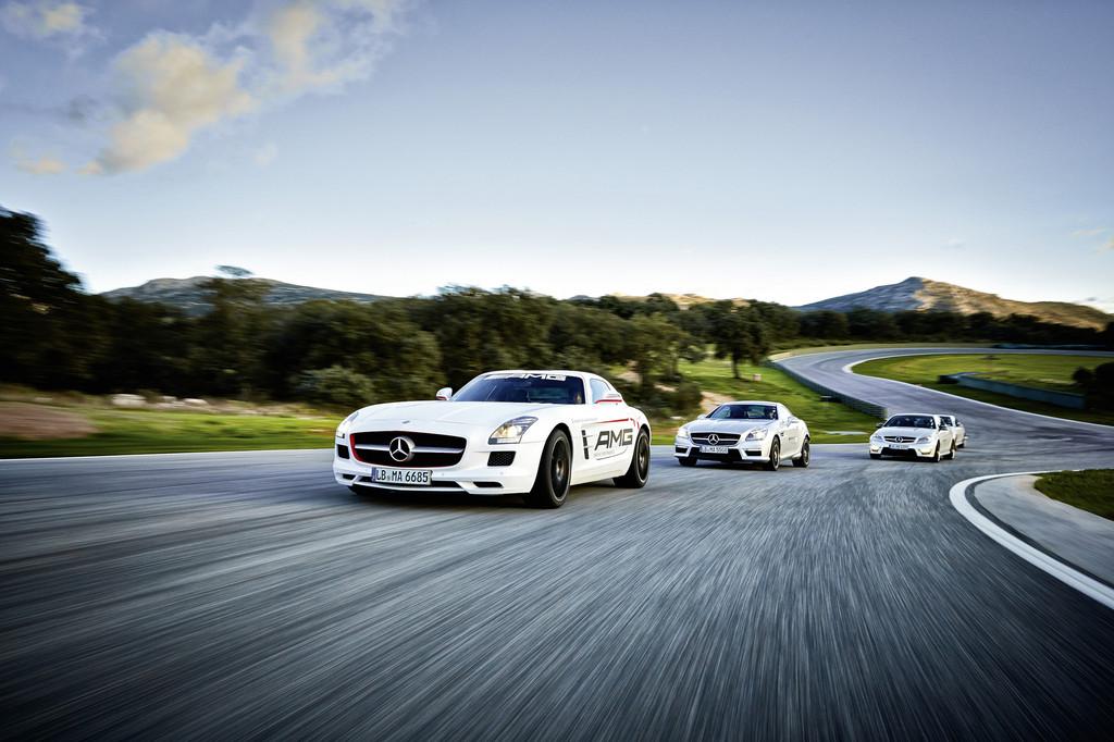Die neuen AMG bei der Driving Academy