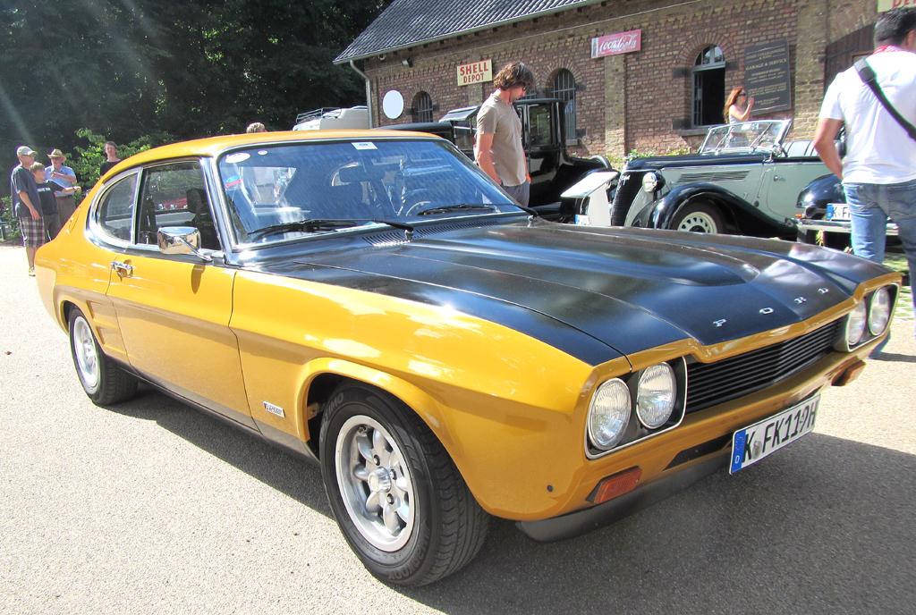 Dieser Ford Capri RS 2600 stammt aus dem Jahr 1972.