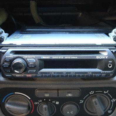 Doppel-DIN-Autoradio als Alternative zum Standard DIN-Autoradio (Foto: Zuzu)