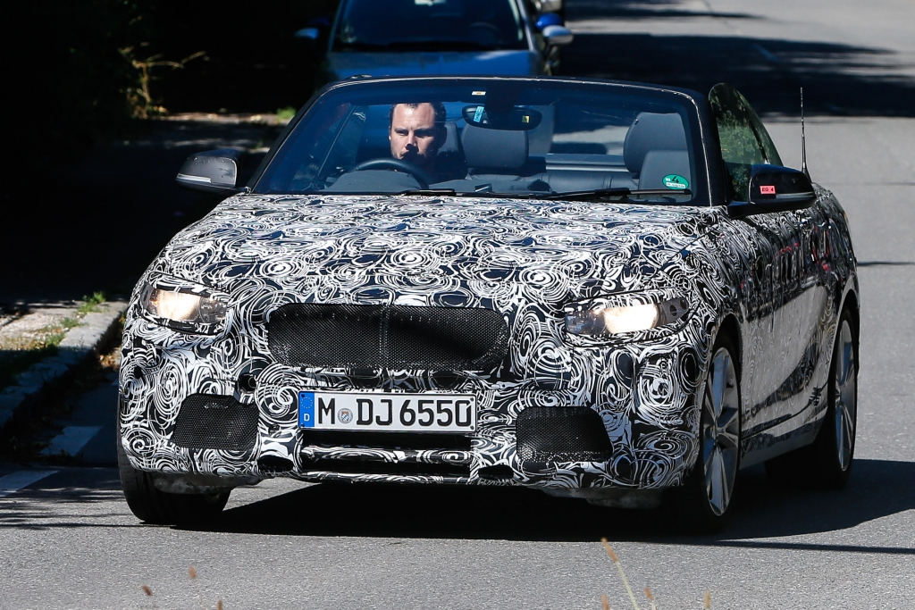 Erwischt: Erlkönig BMW 2er Cabrio – Offen für andere Märkte