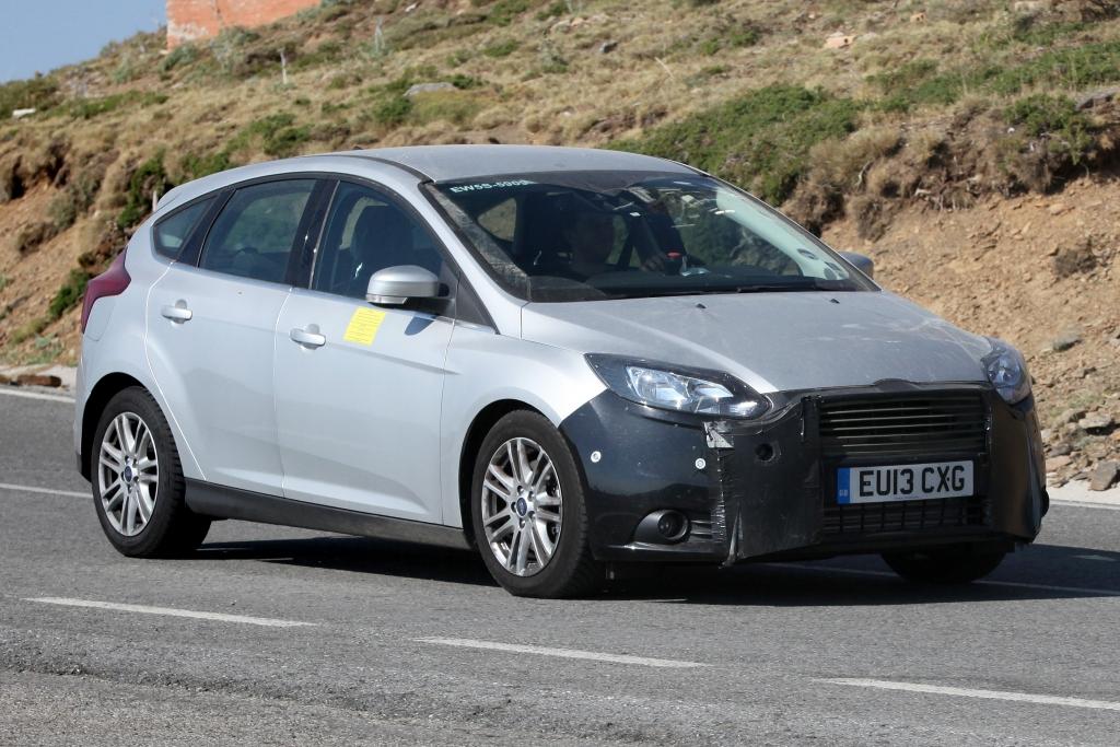 Erwischt: Erlkönig Ford Focus Facelift – Das neue Gesicht