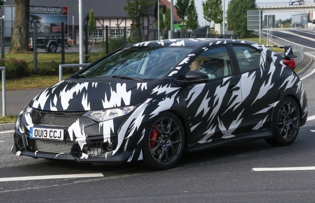 Erwischt: Erlkönig Honda Civic Type R – Der King am Ring