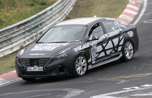Erwischt: Erlkönig Hyundai Sonata – Auch neuer i40 geplant?