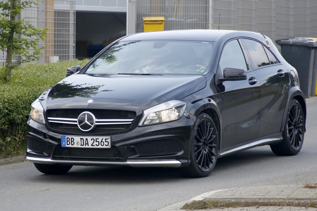 Erwischt: Erlkönig Mercedes 45 AMG Black Series – Mercedes sieht schwarz!