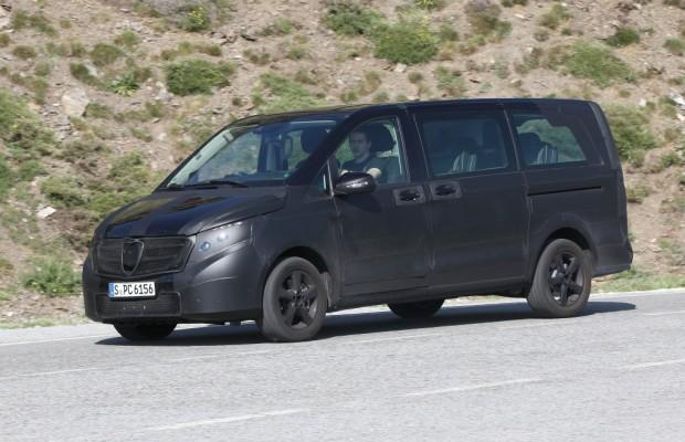 Erwischt: Erlkönig Mercedes Viano – Kein Benzin mehr für den Benz-Bus?