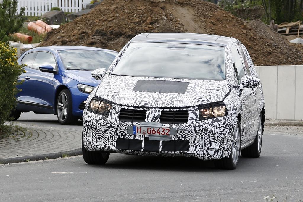 Erwischt: Erlkönig VW Golf Plus – Das Plus an Platz
