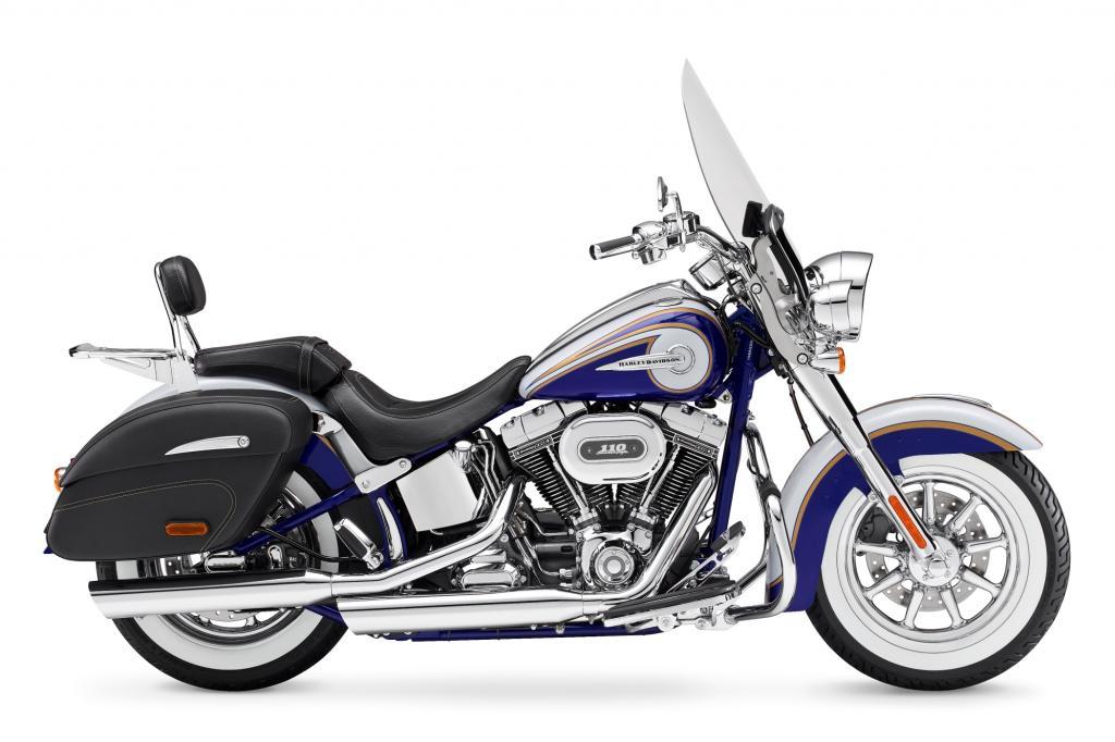 Für Individualisten hat Harley-Davidson die hausgetunte CVO Softail Deluxe in den Modelljahrgang 2014 aufgenommen