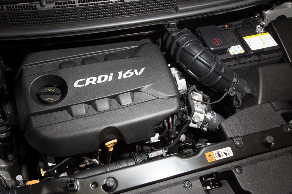 Für den Antrieb des Testwagens war der 1,7-Liter-Diesel mit 100 kW/136 PS zuständig