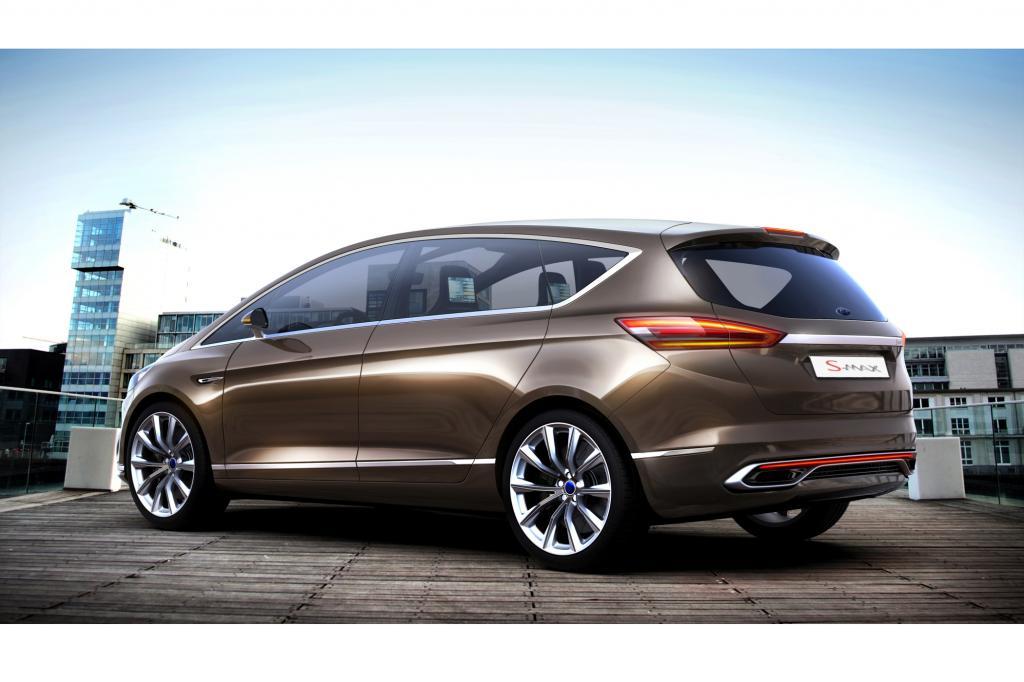 Ford zeigt auf der IAA eine Studie des kommenden S-Max