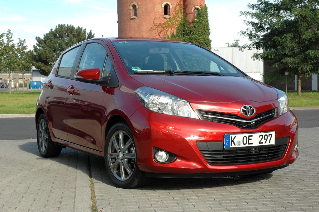 Gleiches könnte für Kleinwagen gelten wie den Toyota Yaris