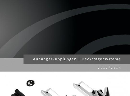 Goldschmitt: Spezialkatalog für Heckträgersysteme und Anhängerkupplungen