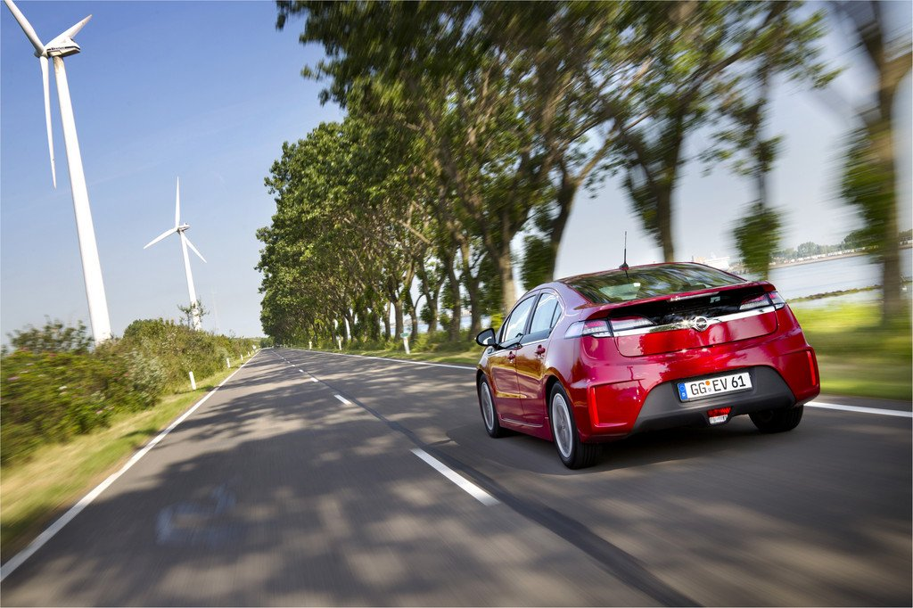 Green Mobility Trophy: Opel Ampera fährt der Konkurrenz davon