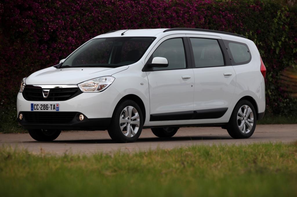 Groß und günstig: der Dacia Lodgy